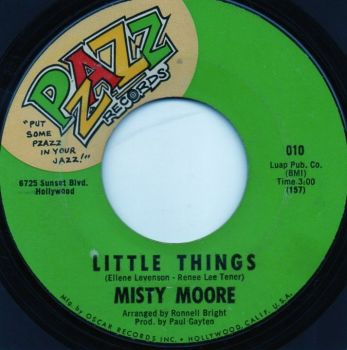 MISTY MOORE - LITTLE THINGS