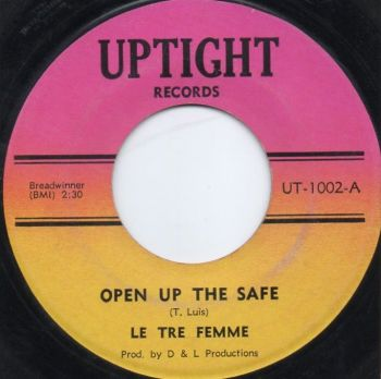 LE TRE FEMME - OPEN UP THE SAFE