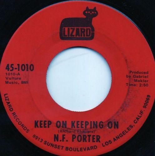 N. F. PORTER - KEEP ON KEEPING ON