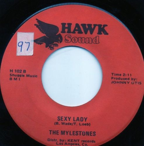 THE MYLESTONES - SEXY LADY