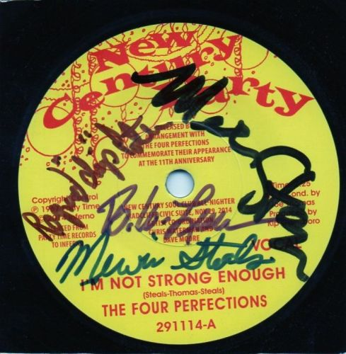 THE FOUR PERFECTIONS - I'M NOT STRONG ENOUGH (SIGNED COPY)