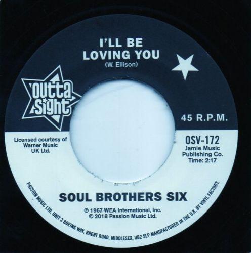SOUL BROTHERS SIX - I'LL BE LOVING YOU