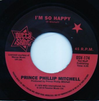 PRINCE PHILLIP MITCHELL - I'M SO HAPPY