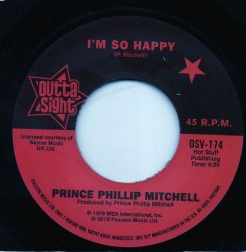 PRINCE PHILLIP MITCHELL - I'M SO HAPPY