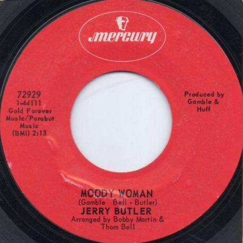 JERRY BUTLER - MOODY WOMAN
