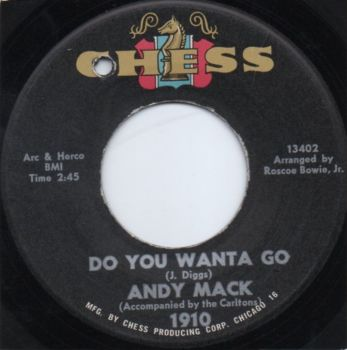 ANDY MACK - DO YOU WANTA GO