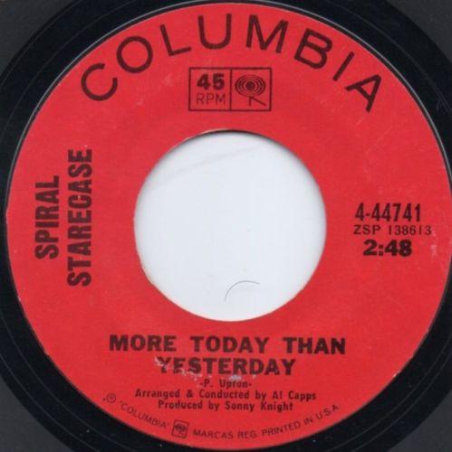 SPIRAL STARECASE - MORE TODAY THAN YESTERDAY