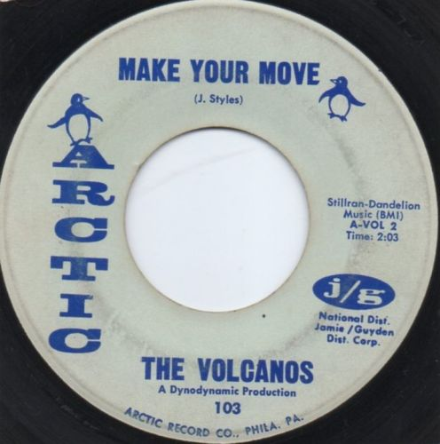 THE VOLCANOS - MAKE YOUR MOVE