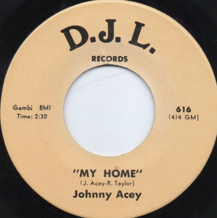 JOHNNY ACEY - MY HOME