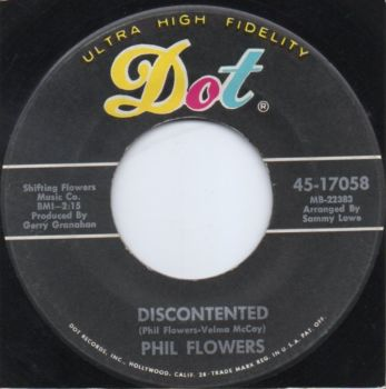 PHIL FLOWERS - DISCONTENTED