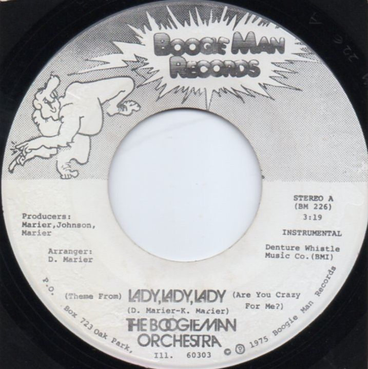 THE BOOGIEMAN ORCHESTRA - LADY, LADY, LADY (Instrumental)