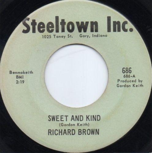 RICHARD BROWN - SWEET AND KIND