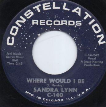 SANDRA LYNN - WHERE WOULD I BE