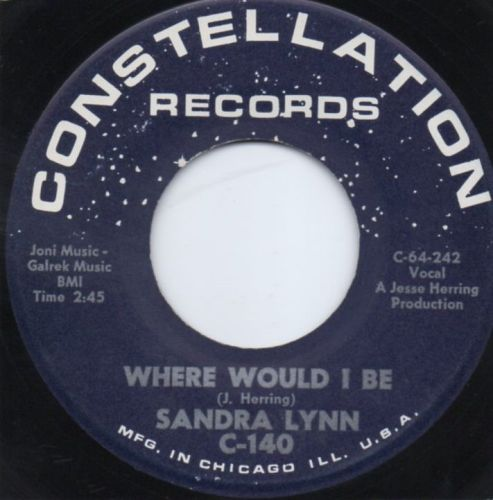 SANDRA LYNN - WHERE WOULD I BE