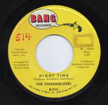 THE STRANGELOVES - NIGHT TIME