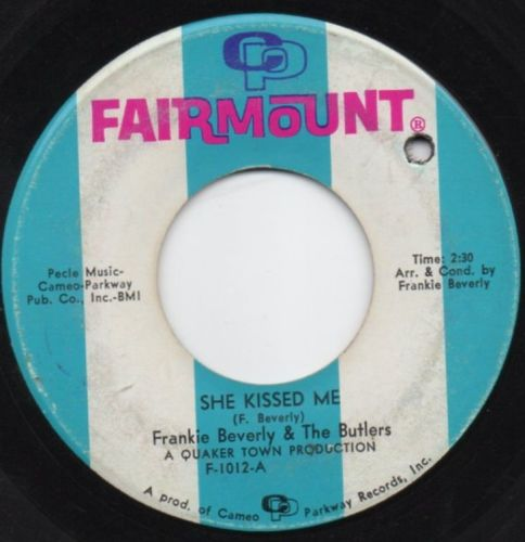 FRANKIE BEVERLY & THE BUTLERS - SHE KISSED ME