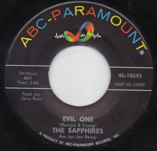 THE SAPPHIRES - EVIL ONE