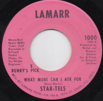 STAR-TELS - WHAT MORE CAN I ASK FOR?