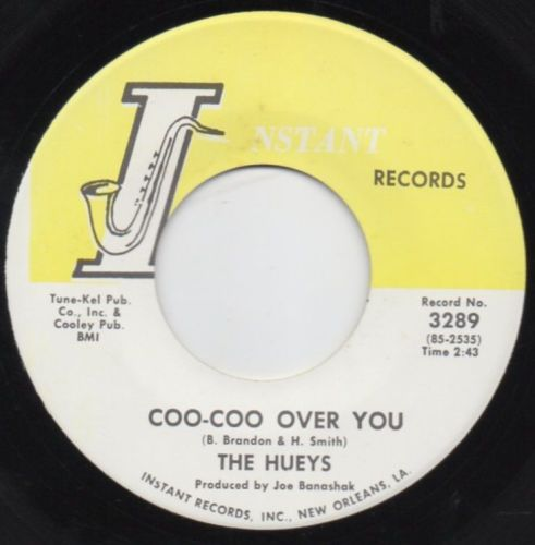 THE HUEYS - COO-COO OVER YOU