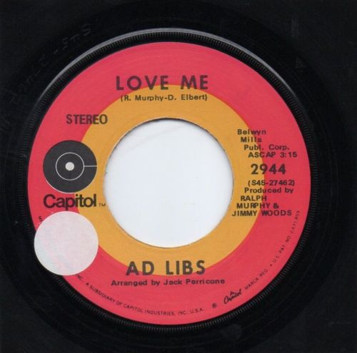 AD LIBS - LOVE ME