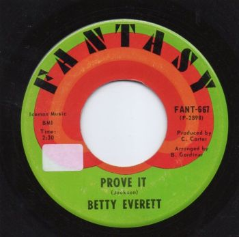 BETTY EVERETT - PROVE IT