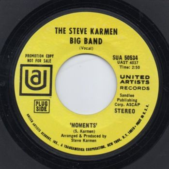 THE STEVE KARMEN BAND - MOMENTS