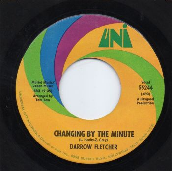 DARROW FLETCHER - CHANGING BY THE MINUTE