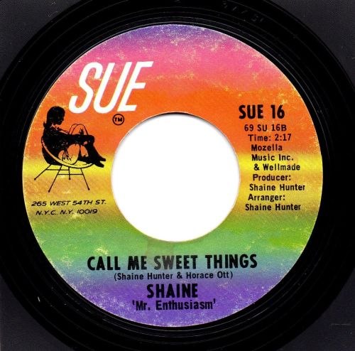 SHAINE - CALL ME SWEET THINGS
