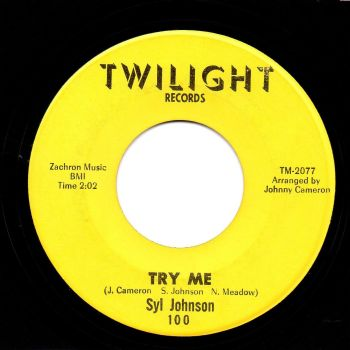 SYL JOHNSON - TRY ME