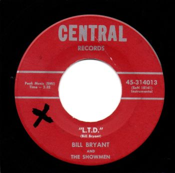 BILL BRYANT AND THE SHOWMEN - L.T.D.