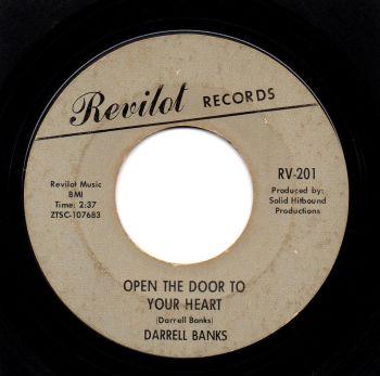 DARRELL BANKS - OPEN THE DOOR TO YOUR HEART
