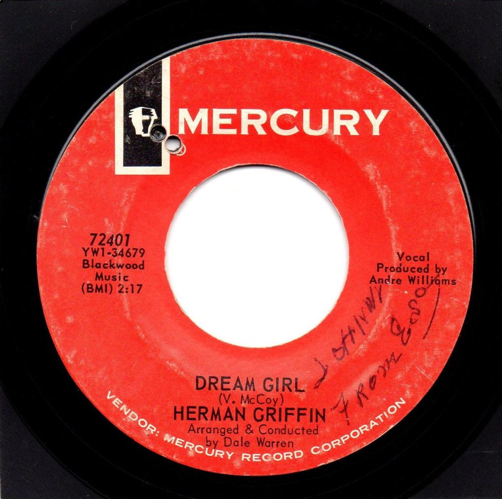 HERMAN GRIFFIN - DREAM GIRL