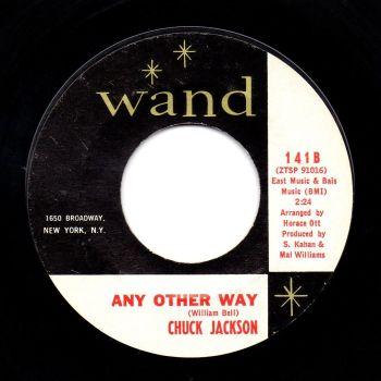 CHUCK JACKSON - ANY OTHER WAY