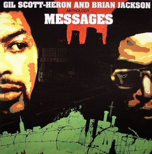 Gil Scott-Heron And Brian Jackson - Anthology. Messages (2xLP, Comp)