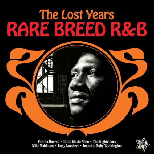 Various - Rare Breed R&B - The Lost Years (LP, Album)