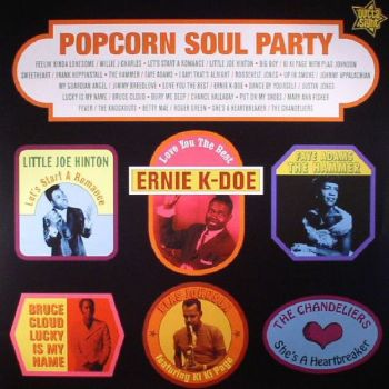 Various - Popcorn Soul Party (LP, Album, Comp)