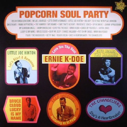 Various - Popcorn Soul Party (LP, Album, Comp)