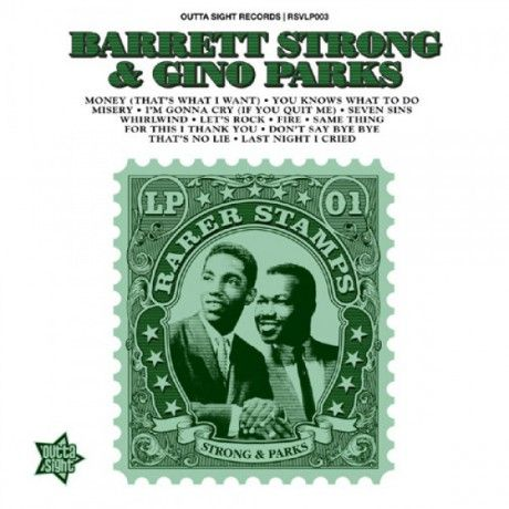 Barrett Strong & Gino Parks - Rarer Stamps 01 (LP, Ltd)