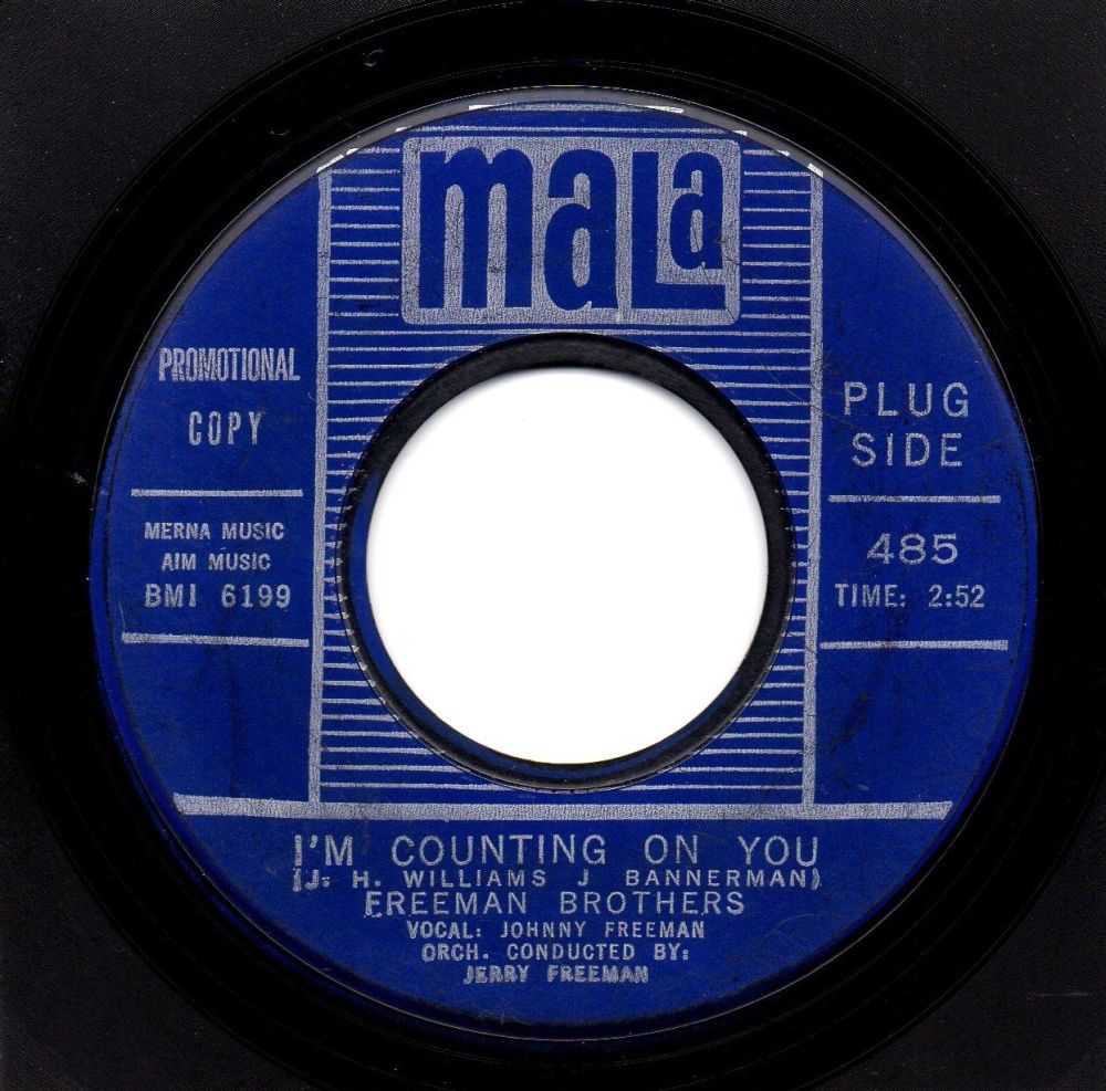 FREEMAN BROTHERS - I'M COUNTING ON YOU
