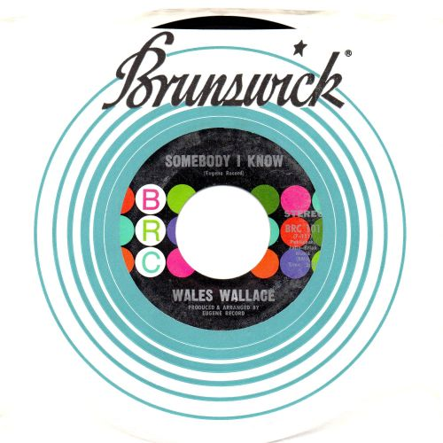 WALES WALLACE - SOMEBODY I KNOW