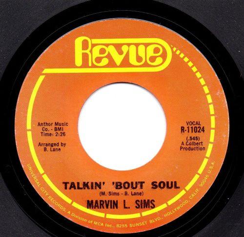 MARVIN L. SIMS - TALKIN' 'BOUT SOUL