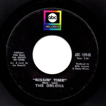 THE ORLONS - KISSIN' TIME