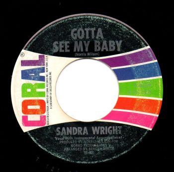 SANDRA WRIGHT - GOTTA SEE MY BABY