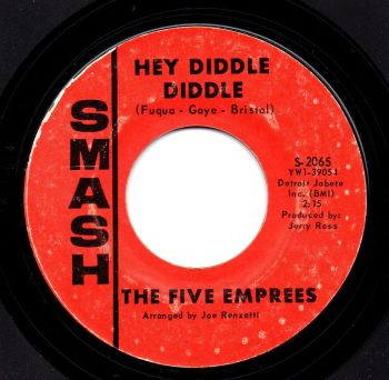 THE FIVE EMPREES - HEY DIDDLE DIDDLE