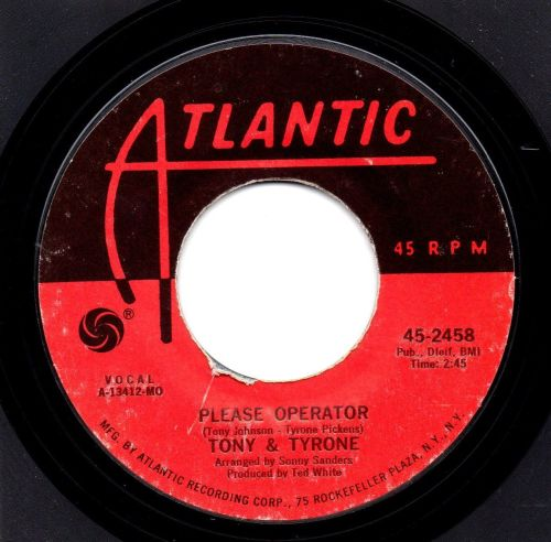 TONY & TYRONE - PLEASE OPERATOR