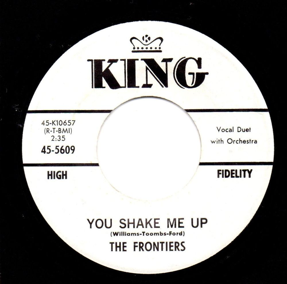 THE FRONTIERS - YOU SHAKE ME UP