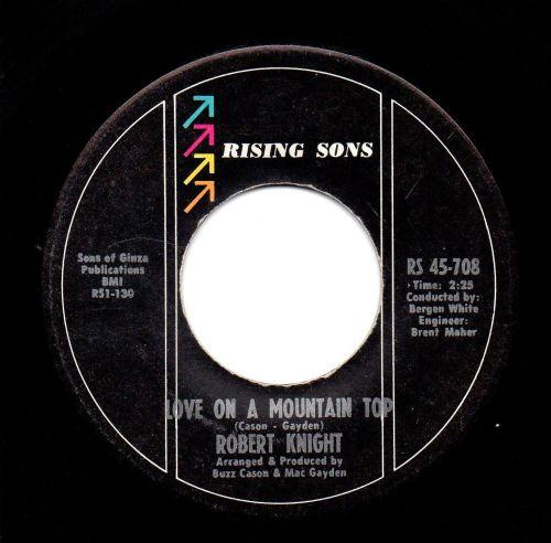 ROBERT KNIGHT - LOVE ON A MOUNTAIN TOP