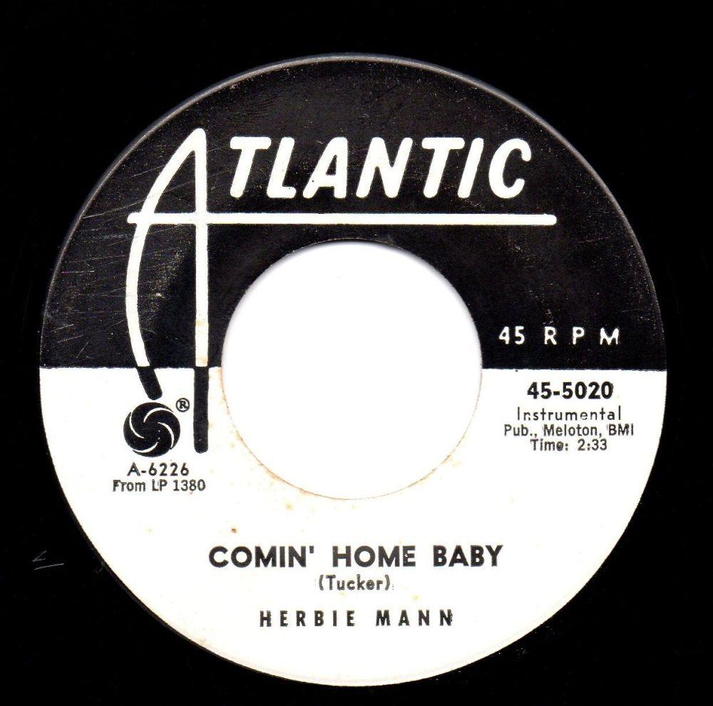 HERBIE MANN - COMIN' HOME BABY