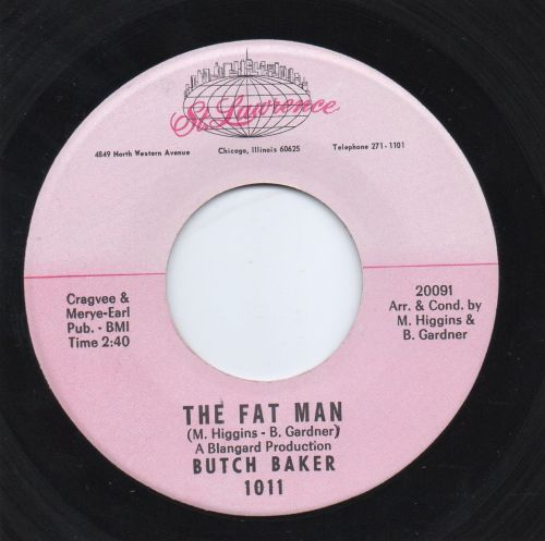 BUTCH BAKER - THE FAT MAN