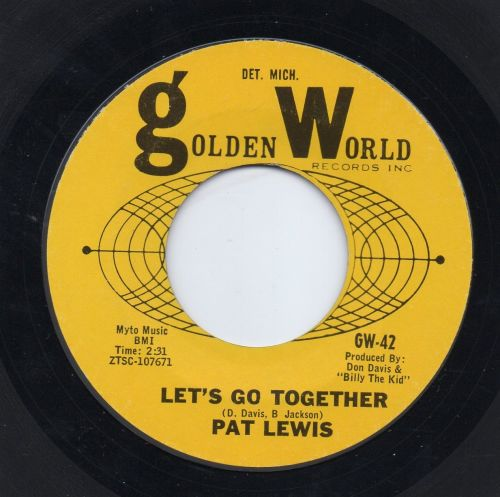 PAT LEWIS - LET'S GO TOGETHER